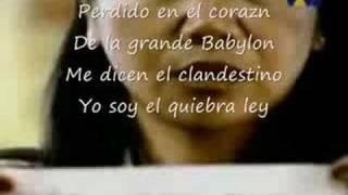 Manu Chao manu CLANDESTINO lyrics parol by XfaceX