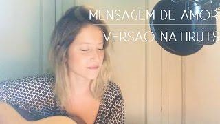 Mensagem de Amor (Versão Natiruts) | COVER Brenda Luce