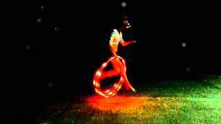 """led hooping to Kito ft. Reija Lee  -- Sweet Talk. Meet my new toy """"Dragon Fly""""!!!!!"""