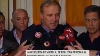 La desaparición de Micaela: Se realizaron pericias al auto del sospechoso