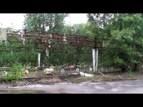 Pripyat, abandoned amusement park, unedited
