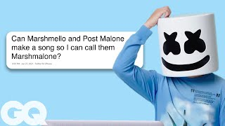 Marshmello Goes Undercover on Twitter, YouTube, and Reddit | GQ