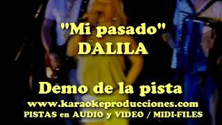 Dalila   Mi pasado DEMO PISTA KARAOKE INSTRUMENTAL