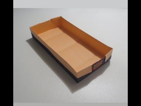 كيف تصنع جارور كبير من ورق ?