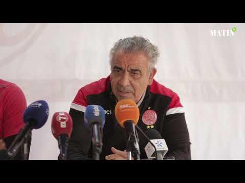 """Video : Fawzi Benzarti : """"la victoire est obligatoire face à l'ASEC Mimosas"""""""