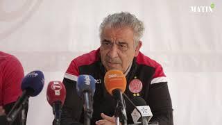 """Fawzi Benzarti : """"la victoire est obligatoire face à l'ASEC Mimosas"""""""