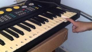 Como tocar Titanic no teclado