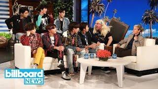 BTS Gets Pranked By Ellen DeGeneres | Billboard News
