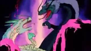 Caballeros del Zodiaco   Shiryu vs dragon negro legendario.wmv