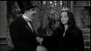The Addams Family - Morticia Addams In A Tiara (Widescreen)