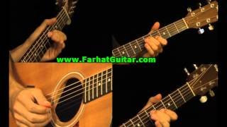 Wish you were here - Pink Floyd - Guitar  Part 2 www.FarhatGuitar.com