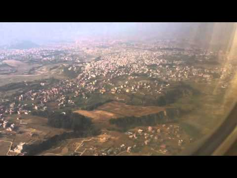 Kathmandu from the sky