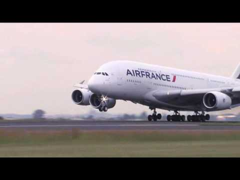 Air France – Premier A380 en Afrique du Sud