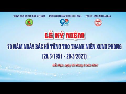 LIVESTREAM | 70 NĂM NGÀY BÁC HỒ TẶNG THƠ THANH NIÊN XUNG PHONG
