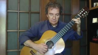 Amar Pelos Dois - Winner ESC 2017 (Classical Guitar Arrangement by Giuseppe Torrisi)