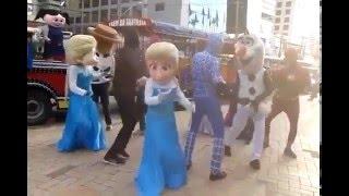 "Elza do ""Frozen"" dançando Metralhadora... COMPLETO!"