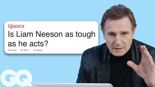 Liam Neeson Goes Undercover on Reddit, YouTube and Twitter | Actually Me | GQ