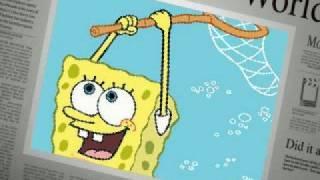Spongebob- He's Flying (WithLyrics)