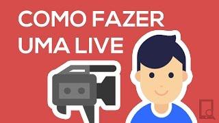 Como fazer uma live (transmissão ao vivo) no YouTube (2016)   Pixel Tutoriais