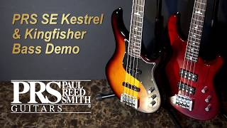 "[MusicForce] PRS se Kestral & Kingfisher Bass Demo - ""6, 8, 12"" Brian McKnight Bass Cover"