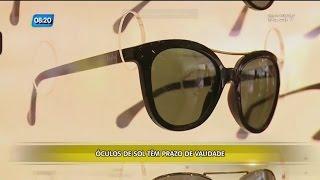 Curiosidade: óculos de sol tem prazo de validade