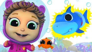 Baby Shark Learn Colors | Compilation | Baby Joy Joy on Clap Clap Baby