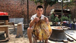 【食味阿远】阿远143块买了一个牛头,卤了整整一天,刚上桌大家就猛吃起来 | Shi Wei A Yuan