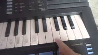 como tocar a musica do titanic no teclado