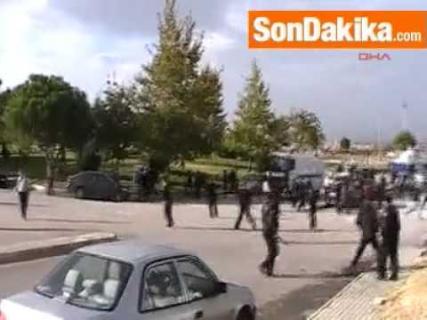 Denizli Pamukkale Üniversitesi'nde15 Gözaltı-Video