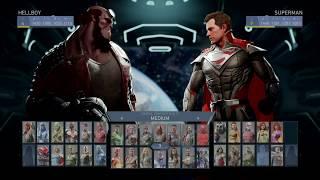 Injustice 2 - Hellboy VS Superman