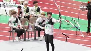 [INDO SUB] [BANGTAN BOMB] BTS' Archery episode @ 2016 ISAC width=