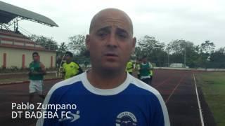 Pablo Zumpano, DT BADEBA