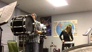 Bazooka Blanks practice 4/1/14: Blue man/Thai groove snippet