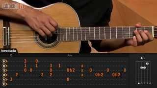 Videoaula Janta (aula de violão)
