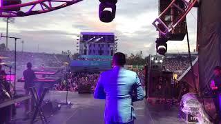 Anthony Santos en Festival Presidente Junto a Milly Quezada