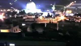 "All four Temple Mount, Dome of the Rock, ""UFO"" videos"
