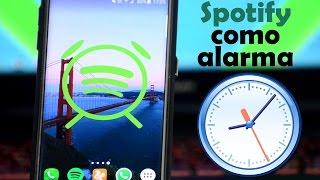 Sincroniza SPOTIFY con tu Alarma   Android Evolution