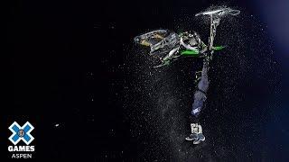 Brett Turcotte wins Snow Bike Best Trick silver | X Games Aspen 2019