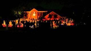 Halloween Light Show Naperville IL, Creepin, Eric Church