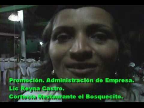 Lic Reyna Castro . Restaurante el Bosquecito, Camoapa Nicaragua.
