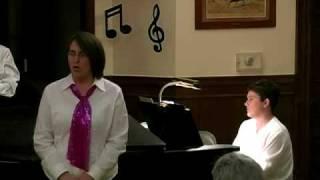 """Lisa sings """"The Dreame"""" - May 2009"""
