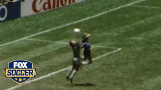 2nd Most Memorable FIFA World Cup Moment: 'The Hand of God' | FOX SOCCER