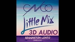 (3D AUDIO) Reggaeton Lento Remix (USE HEADPHONES!!)
