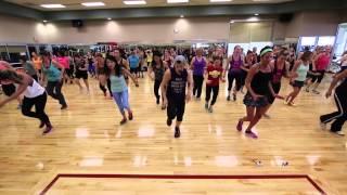 """Bad Romance"" by Lady Gaga - Dance Jam Life Time Fitness. Choreo by SZ Dance Fitness"