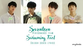 Seventeen - Swimming Fool + Colour Coded; Han/Rom/Eng