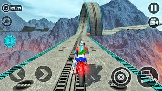 Impossible Moto Bike Tracks 3D 2018-Best Android Gameplay HD #03