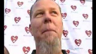 METALLICA HONORED BY MAP, BENEFIT CONCERT DRAWS ANTHONY...