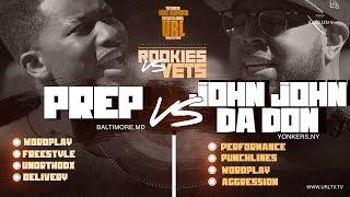 JOHN JOHN DA DON vs PREP SMACK/ URL RAP BATTLE | URLTV