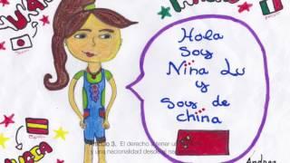 Declaración de los Derechos del Niño 1959 - 5º A CEIP SAN WALABONSO