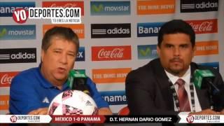 Hernán Dario Bolillo Gomez entrenador de Panama en el Toyota Park
